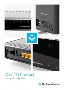 3G compatibility list