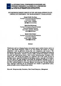 3rd INTERNATIONAL CONFERENCE ON BUSINESS AND ...