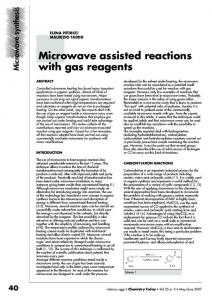 42 Microwave synthesis
