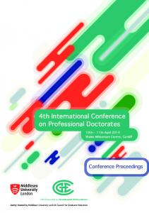 4th International Conference on Professional Doctorates