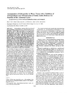 5-Oxoprolinase and Administration of Amino Acids - Europe PMC