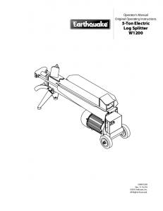 Log splitter for a truck having a three point snowplow hitch and 5 ton electric log splitter w1200 sciox Images