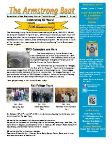 50th Anniversary - Armstrong County