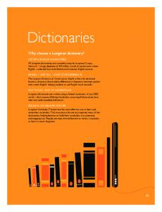 55-59 Dictionaries.indd - Pearson