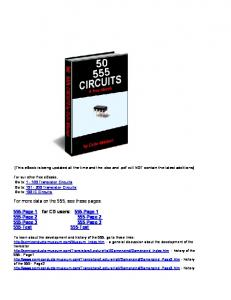 555 Circuits.pdf - Talking Electronics