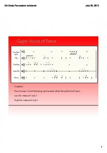 5th Body Percussion.notebook
