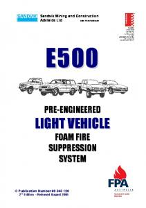 69-343-120 E500 Manual, 2nd Edition, August 06 issue