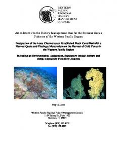 7 - Western Pacific Fishery Council