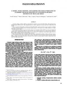 8. model, stable isotope, and radiotracer characterization ... - CiteSeerX