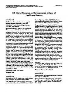 Abstracts of the 8th World Congress of Psycho     - MAFIADOC COM