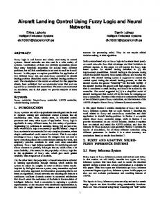 9 Aircraft Landing Control Using Fuzzy Logic and Neural ... - Research