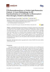9,10-Phenanthrenedione as Visible-Light Photoredox Catalyst: A
