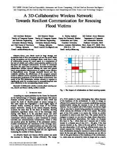 A 3D-Collaborative Wireless Network: Towards Resilient ... - IEEE Xplore