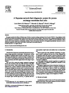 A Bayesian network fault diagnostic system for proton ... - CiteSeerX