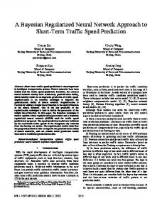 A Bayesian Regularized Neural Network Approach to ... - IEEE Xplore