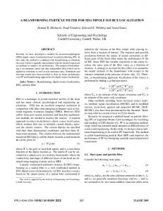 a beamforming particle filter for eeg dipole source ... - IEEE Xplore