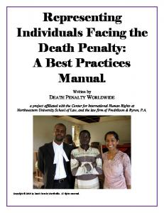 A Best Practices Manual