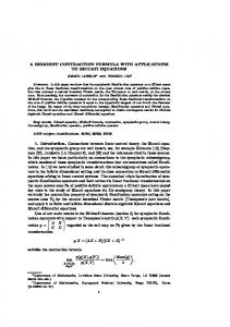 A BIRKHOFF CONTRACTION FORMULA WITH
