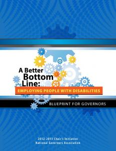 A Blueprint for Governors