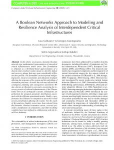 A Boolean Networks Approach to Modeling and ... - Wiley Online Library