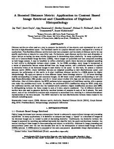 A Boosted Distance Metric: Application to Content ... - Semantic Scholar