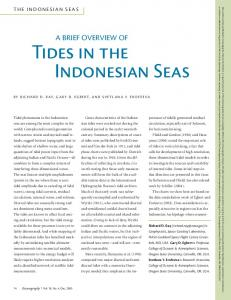 A Brief Overview of Tides in the Indonesian Seas - MSEAS