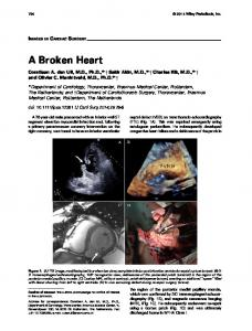A Broken Heart - Wiley Online Library