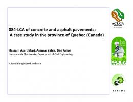 A case study in the province of Quebec (Canada)