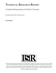 A Channel Probing Scheme for Wireless Networks