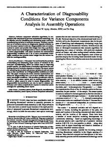 A Characterization of Diagnosability Conditions for ... - Semantic Scholar