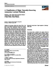 A Classification of Major Naturally-Occurring ...