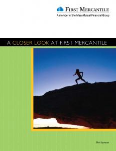 A CLOSER LOOK AT FIRST MERCANTILE