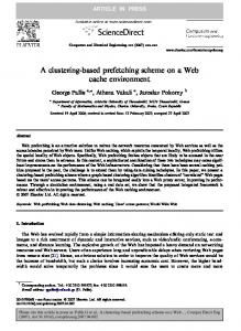 A clustering-based prefetching scheme on a Web ... - Semantic Scholar
