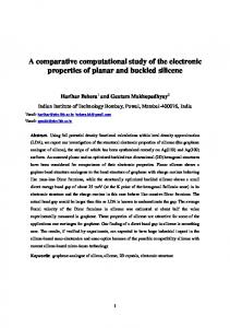 A comparative computational study of the electronic properties of ...