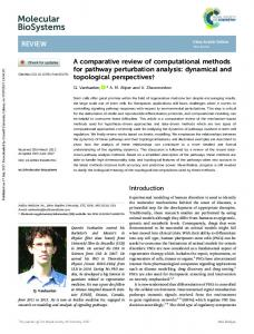 A comparative review of computational methods for