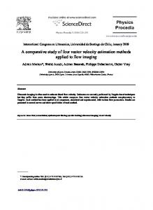 A comparative study of four vector velocity estimation methods ... - Core