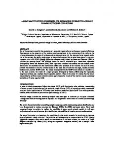 A COMPARATIVE STUDY OF METHODS FOR ... - CiteSeerX