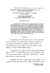 A comparative study of some nuclear methods for235U/238U isotopic ...