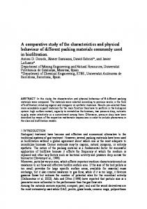 A comparative study of the characteristics and