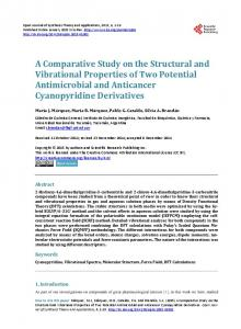 A Comparative Study on the Structural and Vibrational Properties of