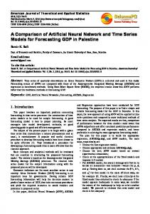 A Comparison of Artificial Neural Network and Time Series Models for ...
