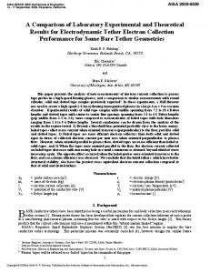 A Comparison of Laboratory Experimental and Theoretical ... - AIAA ARC