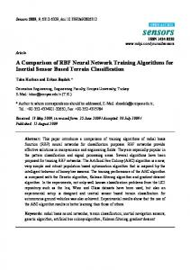 A Comparison of RBF Neural Network Training