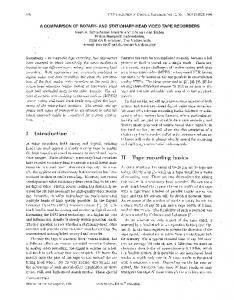 A Comparison Of Rotary- And Stationary-head ... - Turing Machines Inc