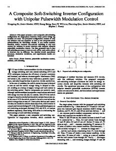 A composite soft-switching inverter configuration with ... - IEEE Xplore