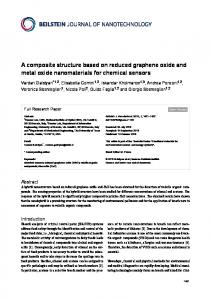 A composite structure based on reduced graphene oxide and metal ...