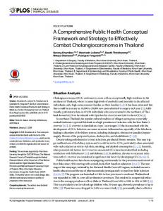 A Comprehensive Public Health Conceptual ... - Semantic Scholar