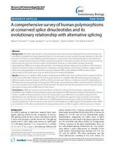 A comprehensive survey of human ... - Genome Medicine