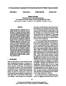 A Computational Approach for Generating Toulmin Model ...