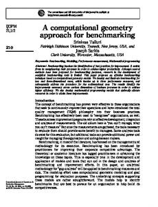 A computational geometry approach for ... - Ingenta Connect